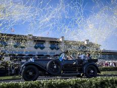 Bentley takes top honors at the Monterey car show, while Porsche Type 64 auction causes bidding chaos.