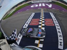 Denny Hamlin was a close second to Harvick at the Consumers Energy 400 this past weekend.