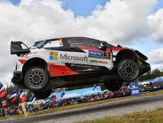 Toyota driver Ott Tänak, co-driven by Martin Järveoja, won the Rally Finland for their second year in a row in the 2019 World Rally Championships.