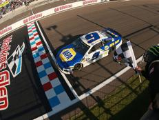 Elliott maintained his track position and raced mistake-free, forcing Martin Truex, Jr. into second place yet again.