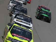 In a nail biting overtime, Hill edged out runner up Sheldon Creed and secured Matt Crafton's playoff spot in the regular season finale at Michigan International Speedway.