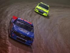 Canadian driver Stewart Friesen took a close win with 0.728 seconds on driver Sheldon Creed at the 2019 NASCAR Gander Outdoor Truck Series Eldora Dirt Derby.