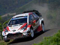 Amid a brake failure, the Estonian driver secured his fifth win of the 2019 rally season, and landed Toyota's first 1-2-3 WRC result.