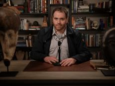 EXPEDITION UNKNOWN host breaks down new hobby on new talk show JOSH GATES TONIGHT and shares how to create your own axe throwing set up at home.